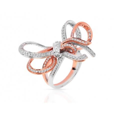 Золотое кольцо с бриллиантами 1.20ct Sonia B. Bitton