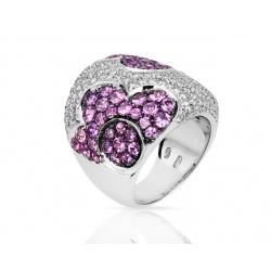 Яркое кольцо с бриллиантами Pasquale Bruni
