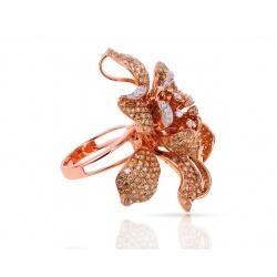 Коктейльное кольцо-кулон с бриллиантами 7.11ct