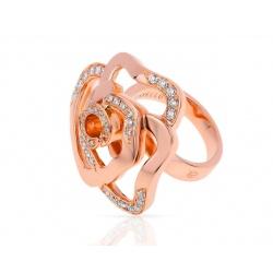 Золотое кольцо с бриллиантами 0.61ct Gavello