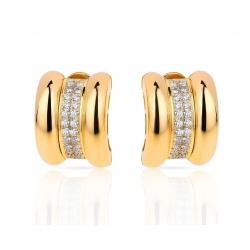 Золотые серьги с бриллиантами Chopard La Strada