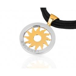 Прекрасная золотая подвеска Bvlgari Tondo Sun