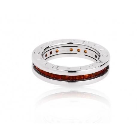 Золотое кольцо с цитринами Bvlgari B.Zero 1