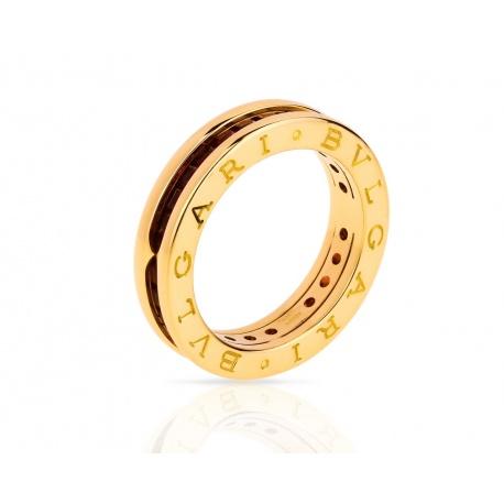 Золотое кольцо с аметистами Bvlgari B.Zero 1