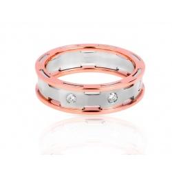 Золотое кольцо с бриллиантами 0.10ct Барака