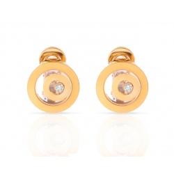 Золотые серьги с бриллиантами Chopard Happy Spirit