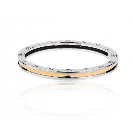 Великолепный золотой браслет Bvlgari B.Zero 1
