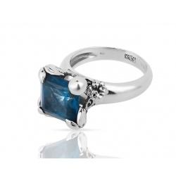 Чудесное кольцо с топазом 5.73ct Carrera Jazmin
