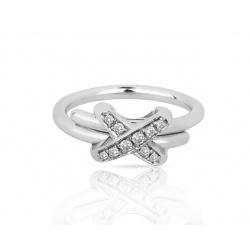 Изумительное золотое кольцо с бриллиантами Chaumet