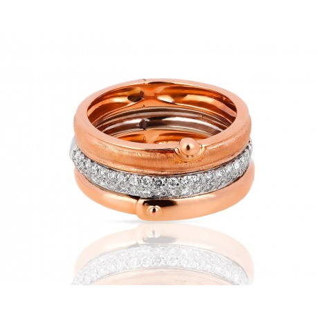 Золотое кольцо с бриллиантами H.Stern La Nouvelle