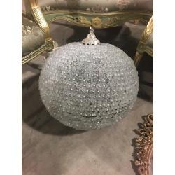 Винтажная люстра - шар
