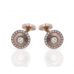 Золотые запонки с бриллиантами А. Ананов
