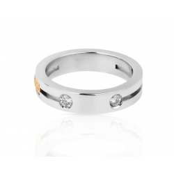 Кольцо с бриллиантами 0.16ct Baraka