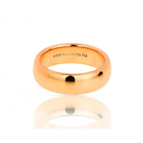 Обручальное золотое кольцо Tiffany&Co Classic