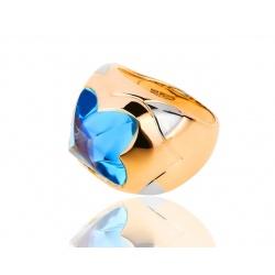 Золотое кольцо с топазом Bvlgari Piramide