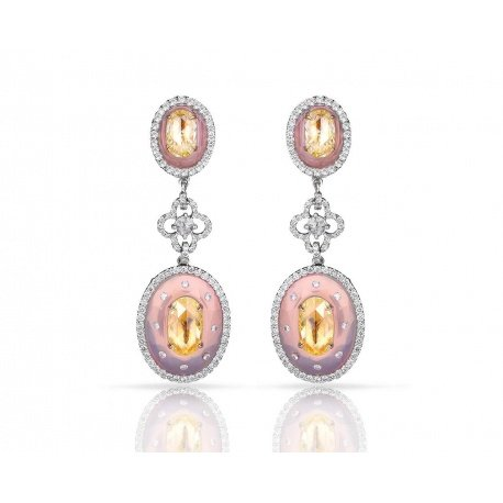 Чудесные золотые серьги с бриллиантами Avakian