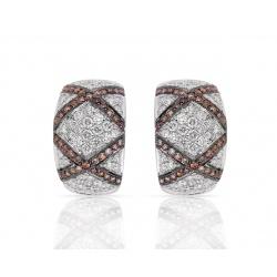 Шикарные серьги с бриллиантами 5.81ct