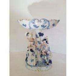 Фарфоровая ваза - конфетница
