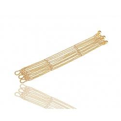 Прекрасный золотой браслет Cartier Draperie Decollete