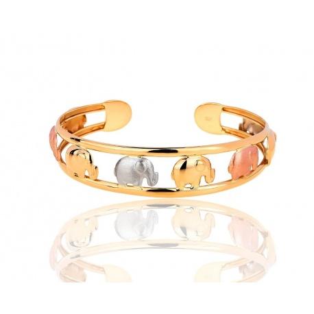 Интересный золотой браслет