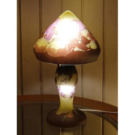 Настольная лампа в стиле Галле