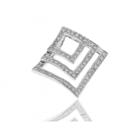 Золотой кулон с бриллиантами 0.91ct