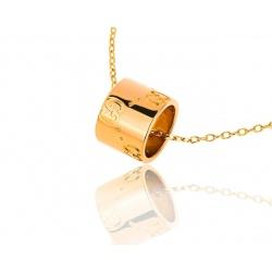 Стильная золотая подвеска Gucci Icon