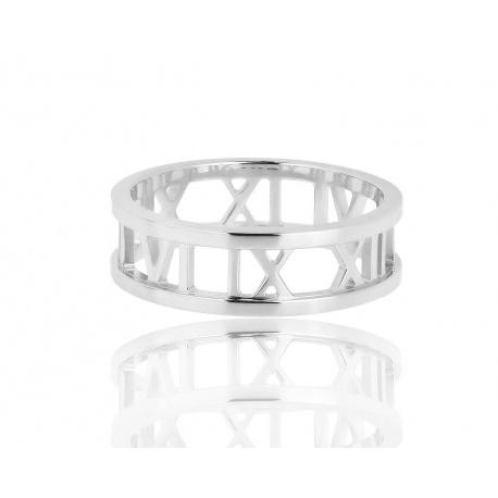 Элегантное золотое кольцо Tiffany&Co Atlas