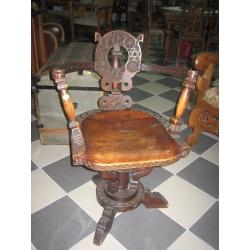 Кресло вращающееся антикварное