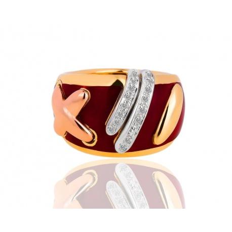Золотое кольцо с бриллиантами Maria Cassetti