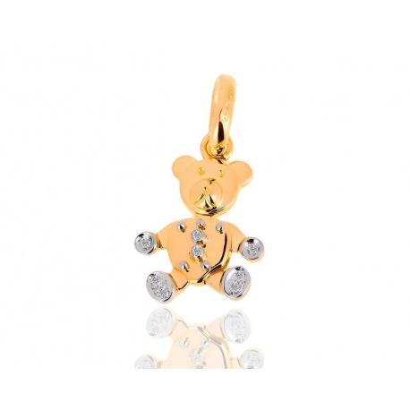 Золотая подвеска с бриллиантами Pomellato Teddy Bear