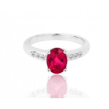 кольцо с бриллиантами и турмалином H.Stern