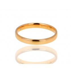 Оригинальное золотое кольцо с бриллиантом De Beers