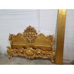 Золотая кровать Барокко