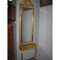 Зеркало с консолью ( Лот №20782 )