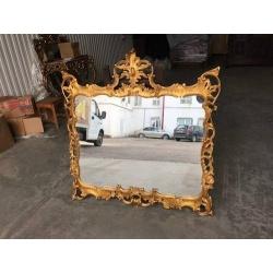 Зеркало с позолотой