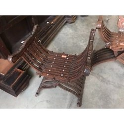 Кресло курульное Неоренессанс