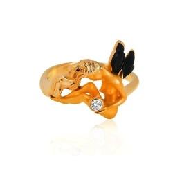 Кольцо с бриллиантом *Ангел* от Carrera