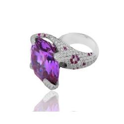 Волшебное кольцо с бриллиантами