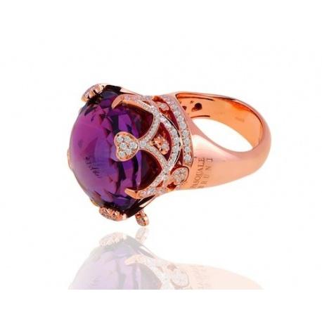 Кольцо с аметистом Pasquale Bruni