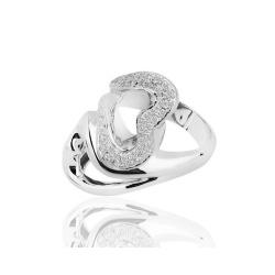 Кольцо с бриллиантами Antonini Heart