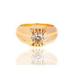 Помолвочное кольцо с бриллиантом 1.64ct