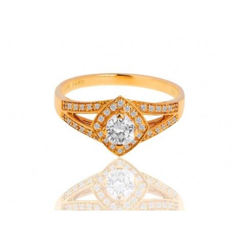 Кольцо с бриллиантами 0.42ct Mauboussin