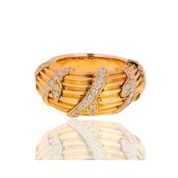 Кольцо с бриллиантами Cartier Vintage