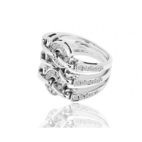 Кольцо с бриллиантами Bvlgari Astrale