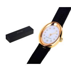Прекрасные часы с бриллиантами Bvlgari