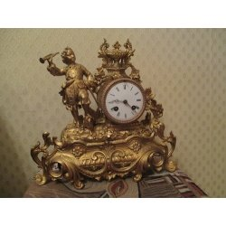 Французские каминные часы