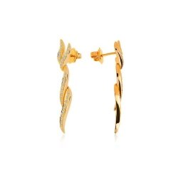 Итальянские серьги с бриллиантами Raima