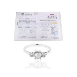 Необычное кольцо с бриллиантами 1.50ct
