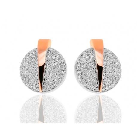 Изящные серьги с бриллиантами 1.90ct Casa Gi